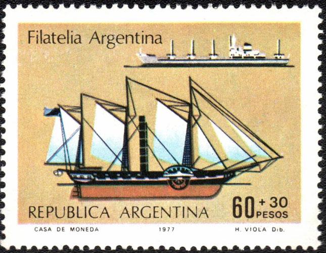 Estampitas o estampillas que gran coleccion...-http://www.histarmar.com.ar/FilateliaMaritima/Masse/1977-Junio16FilateliaArgentina1976.jpg
