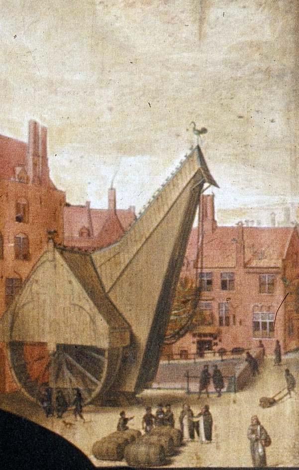 Tower Crane Inventor : Las gr?as m?s de gran alcance del puerto ten?an dos