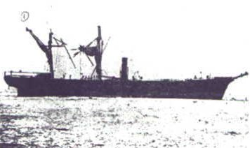 Navio Wateree en 1868