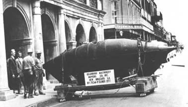Submarino encontrado