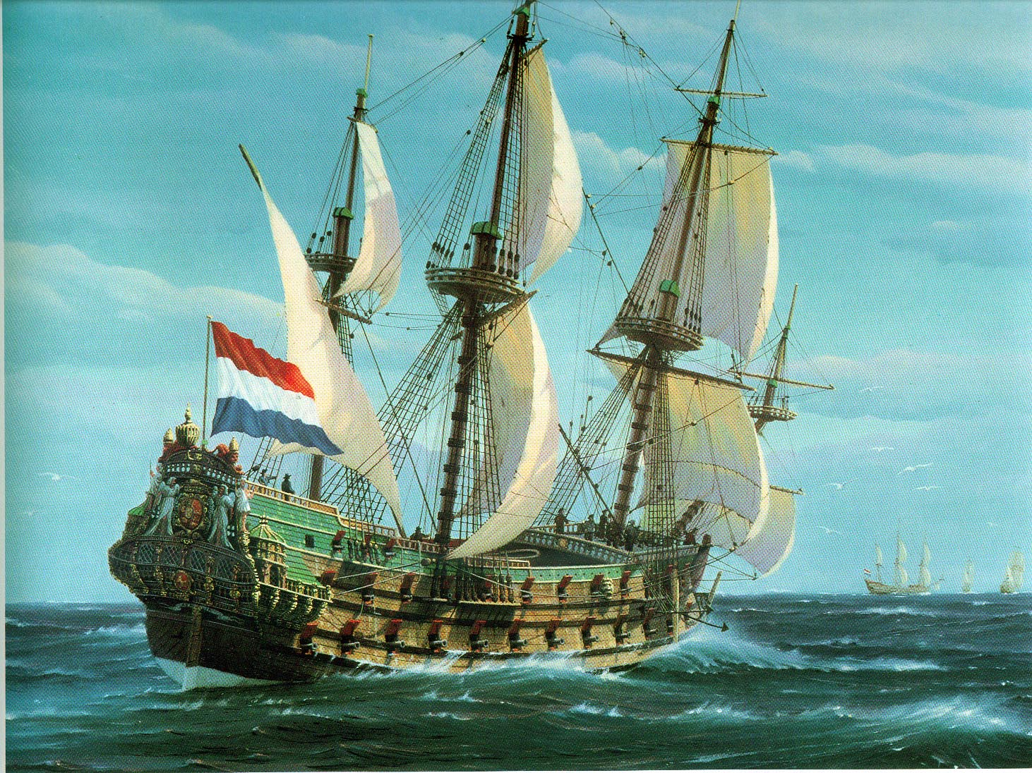 Image result for french boats 1700]