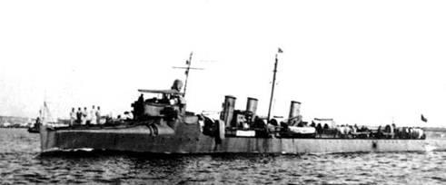 Buques argentinos en la Primera Guerra mundial