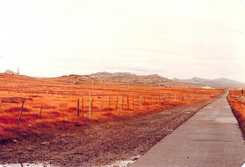 Imágenes de Malvinas tomadas por un Cabo