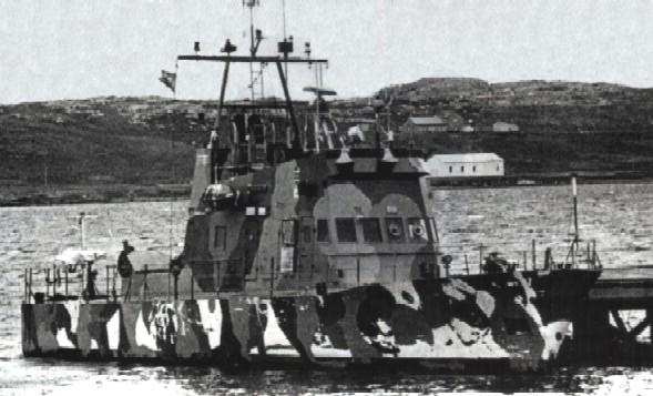 Guerra de Malvinas: historia de las lanchas guardacostas