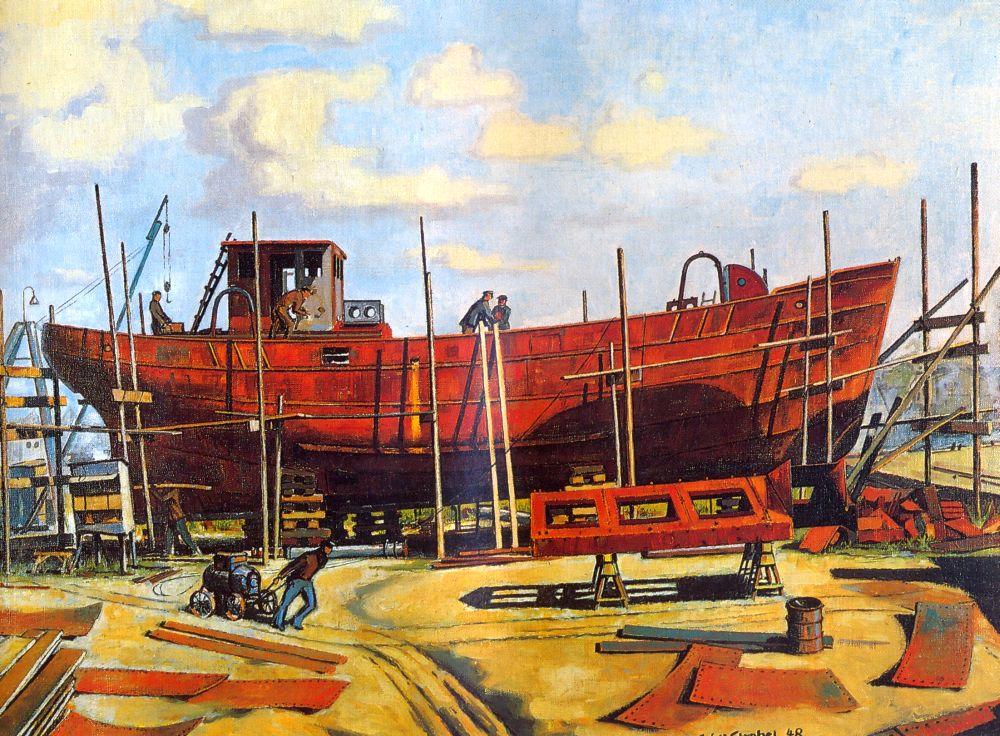 Kremer Werft Elmshorn 1948