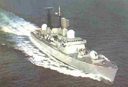 Destructores Clase Hercules fabricados en Argentina en el Astillero Rio Santiago